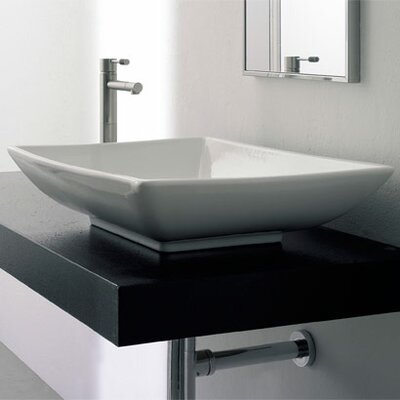 Kylis Rectangular Vessel Bathroom Sink