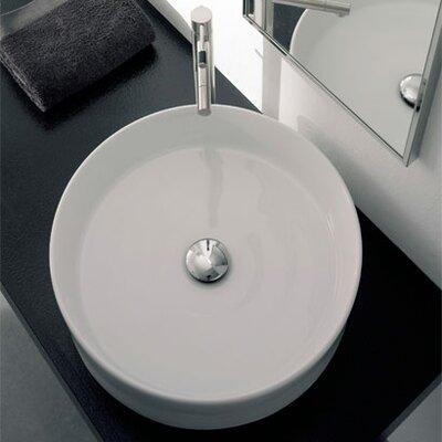 Geo Circular Vessel Bathroom Sink