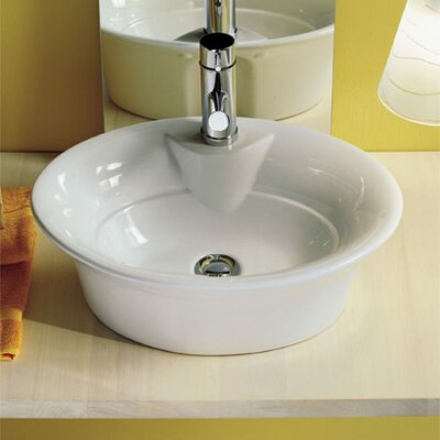 Sax Oval Vessel Bathroom Sink
