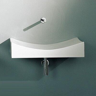 Tsunami Ceramic 36 Wall Mount Bathroom Sink