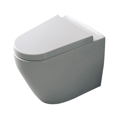 Tizi Floor Mounted 1.3 GPF Elongated Toilet Bowl