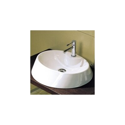 Rugby Ceramic Circular Vessel Bathroom Sink
