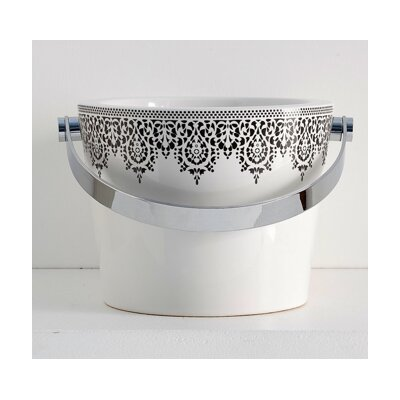 Bucket Circular Vessel Bathroom Sink