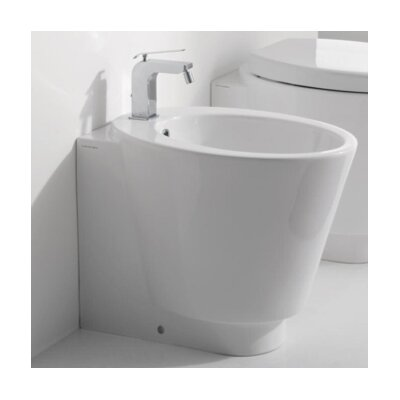 Wish 1.3 GPF Elongated Toilet Bowl Finish: White, Seat Cover Color: White