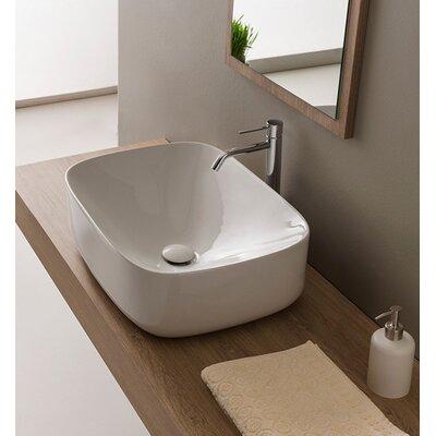 Moon Oval Vessel Bathroom Sink