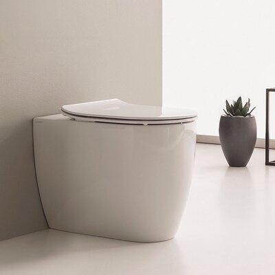 Moon 1.3 GPF Elongated Toilet Bowl