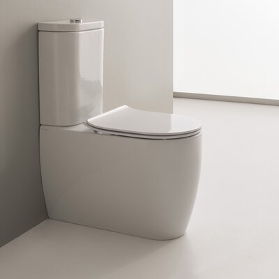 Moon 1.2 GPF Elongated Two-Piece Toilet