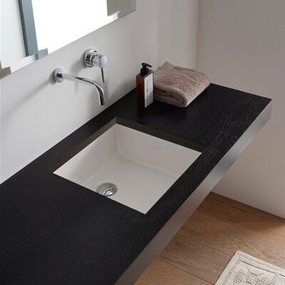 Miky Square Undermount Bathroom Sink