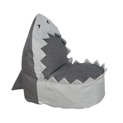 Sharky the Shark Kids Bean Bag Chair
