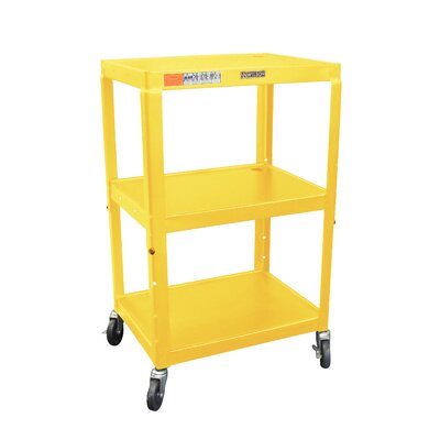 Utility Cart Color: Yellow