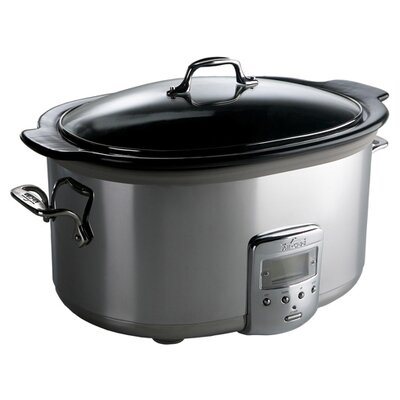 6.5 Quart Slow Cooker with Ceramic Insert