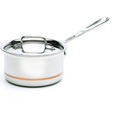 Copper-Core Saucepan with Lid