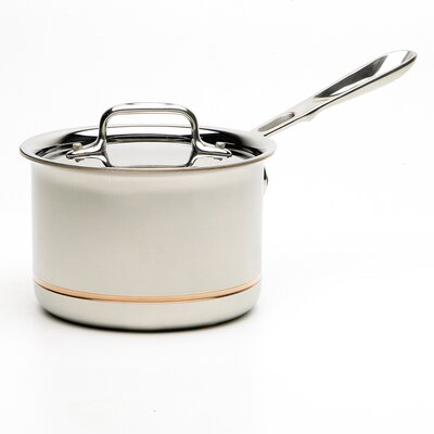 Copper-core 2-qt. Saucepan