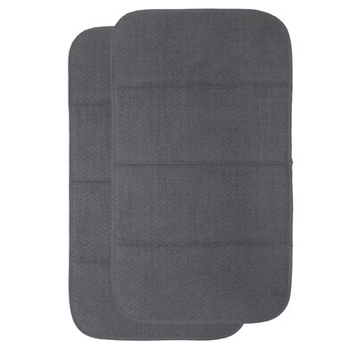 Dish Drying Mat Finish: Pewter