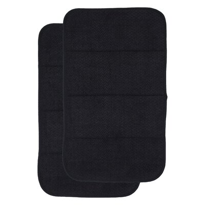 Dish Drying Mat Finish: Black