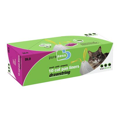 Cat Pan Liners Size: Small (10 Pack)