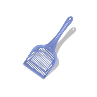 Plastic Long Handled  Extra Giant Litter Scoop (Set of 3)