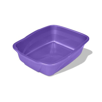 Cat Litter Pan Size: Large (18 x 14 x 5)