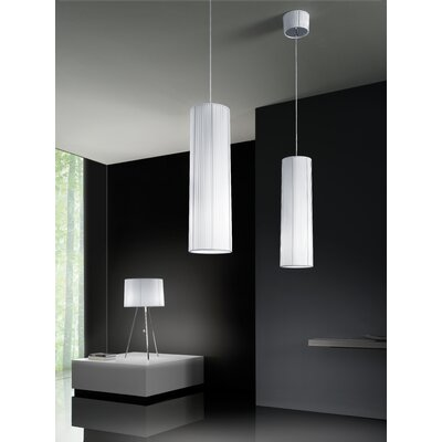 Obi 2-Light Pendant Color: White