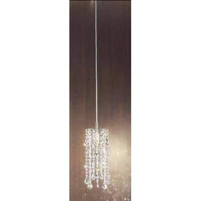 Marylin 1-Light Pendant Color: Crystal