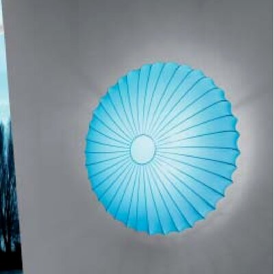 Muse 1-Light Inverted Pendant Finish: Light Blue
