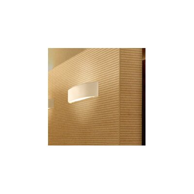 Skin Flush Mount Finish: White with Warm White Diffuser, Size: 10.25 H x 39.38 W