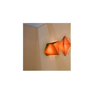 Ukiyo 3-Light Flush Mount Finish: Orange / Black, Bulb Type: (3) E26 Max 100W