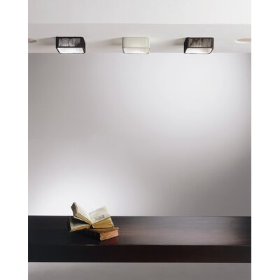 Clavius Rectangular Shade Color: White