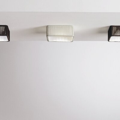 Clavius Spot 1-Light Flush Mount Transformer: Yes