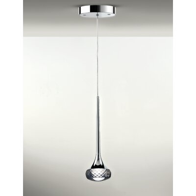 Fairy 1-Light Mini Pendant Shade Color: Grey