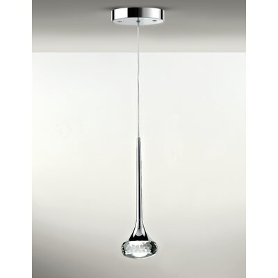 Fairy 1-Light Mini Pendant Shade Color: Crystal