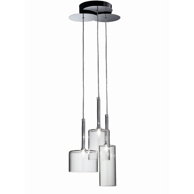 Spillray 3-Light Chandelier Finish: Crystal