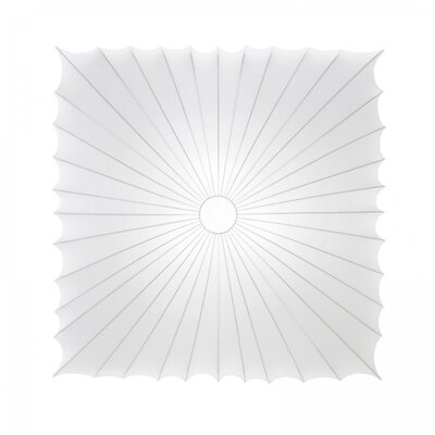 Muse Square Wall / Celing Light Size: Extra Large, Bulb Type: 3 x 100 W E26