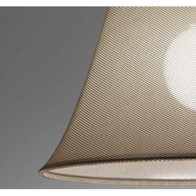 Sunshade 1-Light Off-Center Pendant Shade Color: Sand