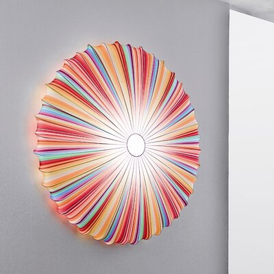 Muse 1-Light Inverted Pendant Color: Multicolor
