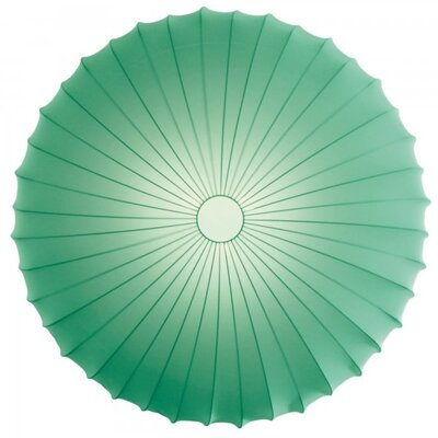 Muse 1-Light Inverted Pendant Finish: Green