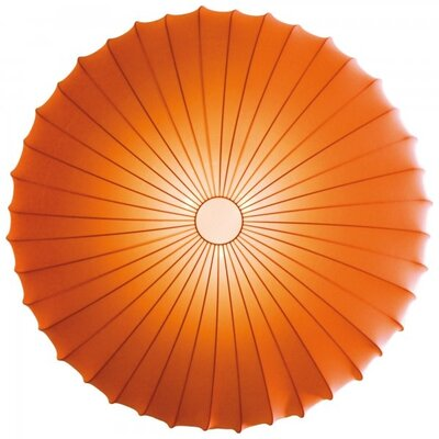 Muse 1-Light Inverted Pendant Finish: Orange