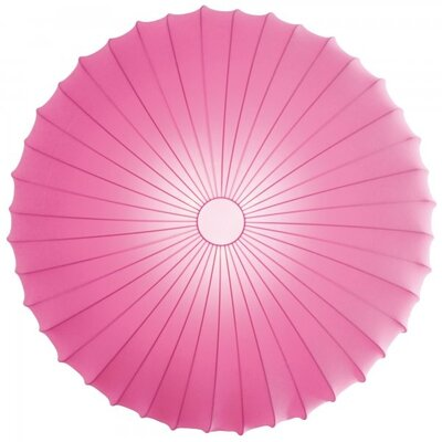 Muse 1-Light Inverted Pendant Color: Pink