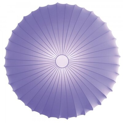 Muse 1-Light Inverted Pendant Color: Violet