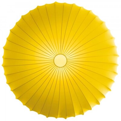 Muse 1-Light Inverted Pendant Finish: Yellow