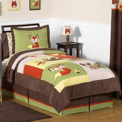 Forest Friends 3 Piece Comforter Set