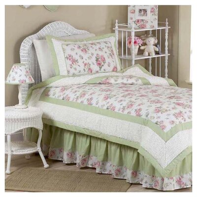 Riley's Roses 4 Piece Twin Comforter Set