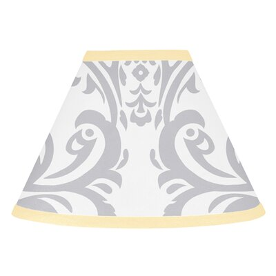 Avery 10 Cotton Empire Lamp Shade Color: Yellow and Gray