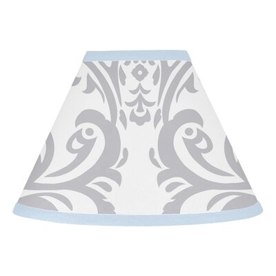Avery 10 Cotton Empire Lamp Shade Color: Blue and Gray
