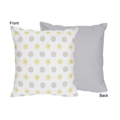 Mod Garden Throw Pillow