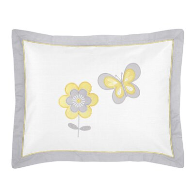 Mod Garden Standard Pillow Sham