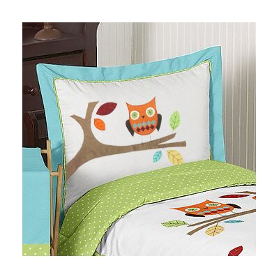 Hooty Standard Pillow Sham