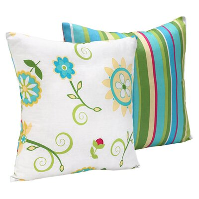 Layla Cotton Throw Pillow