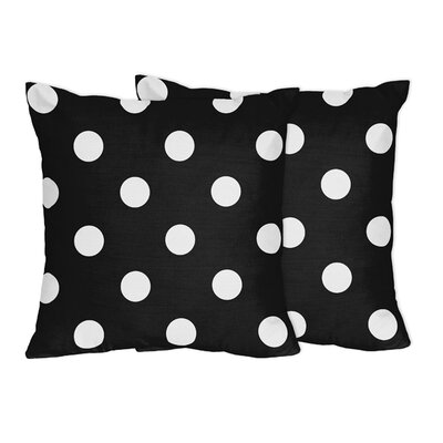 Hot Dot Cotton Throw Pillow