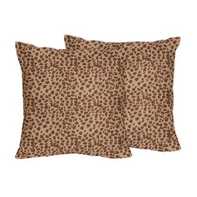 Cheetah Girl Microsuede Throw Pillow